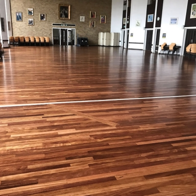 Happy to recommend Floorcraft NE for any wood floor project | Van Mildert College @ Durham University