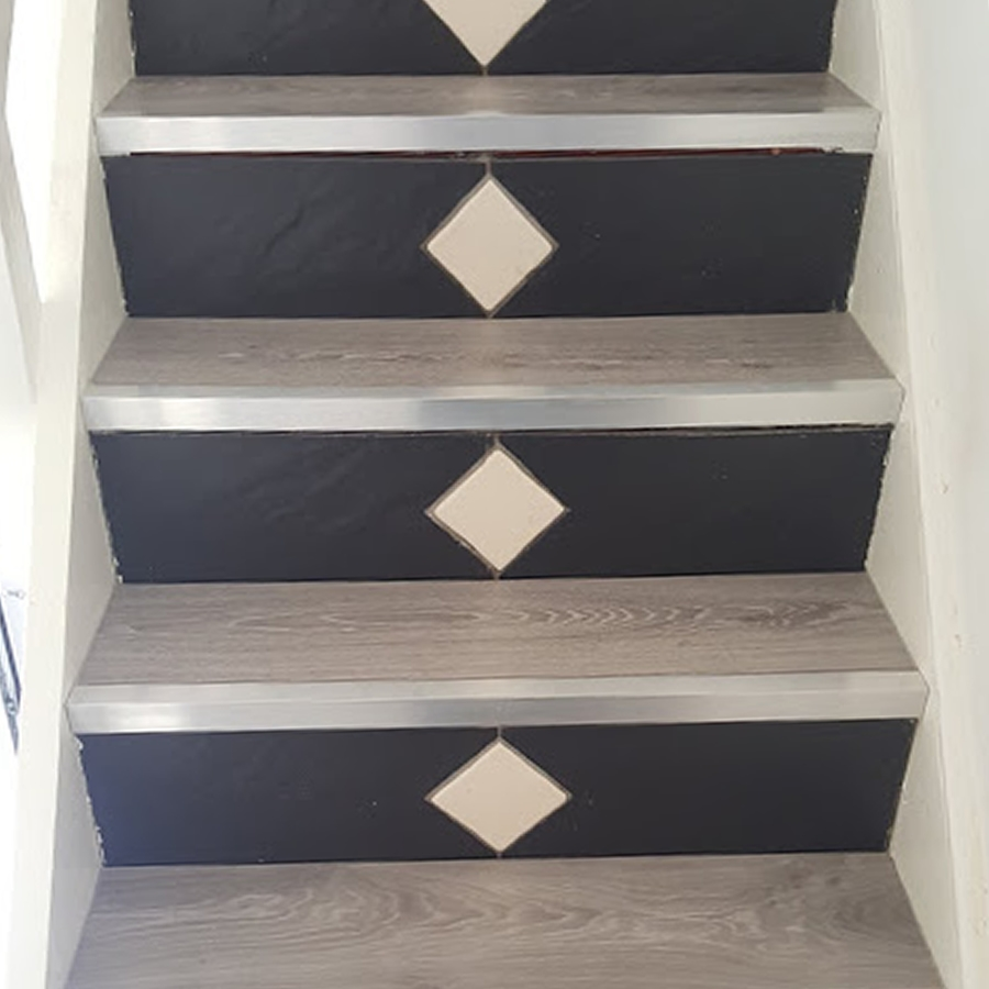 Timeless Oak fitted on Stairs