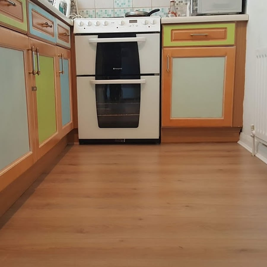 Laminate Floor Fitted Through Ground Level